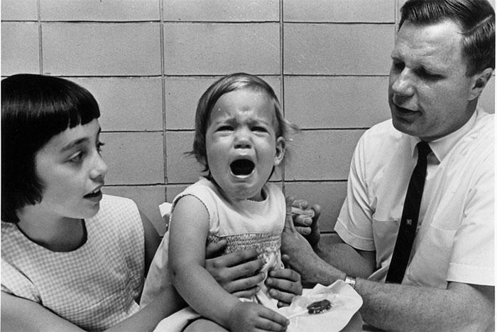 Maurice Hilleman và hai con