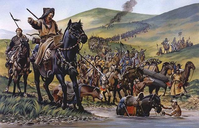 Dân số chỉ có 2 triệu dân nhưng Mông Cổ có thể đánh bại các kẻ thù đông hơn.
