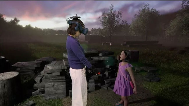 Công nghệ VR giúp một người mẹ người Hàn Quốc gặp lại cô con gái đã mất của mình.