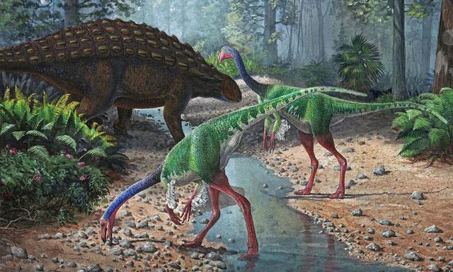 Đối với nhiều người, khủng long có thể có rất nhiều màu da khác nhau.