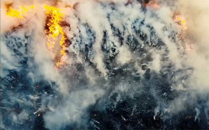 Lửa thây ma là loại lửa liên tục cháy ngầm dưới lòng đất.