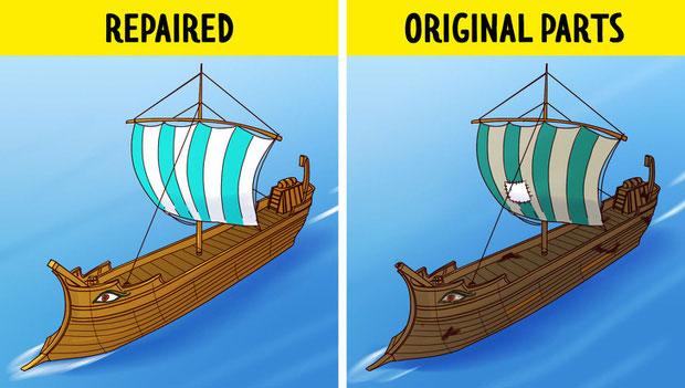 Con thuyền của Theseus