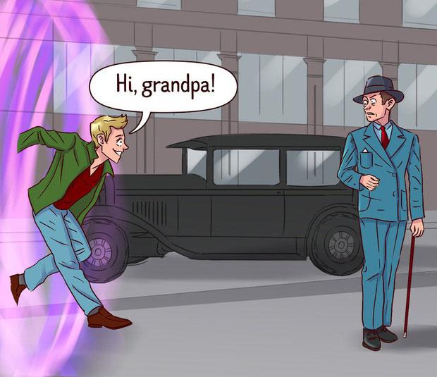 Nghịch lý ông nội