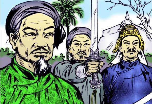 Độc thần kiếm là binh khí của Thái Đức Hoàng đế Nguyễn Nhạc.