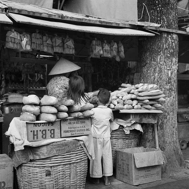 Bánh mì Sài Gòn xưa