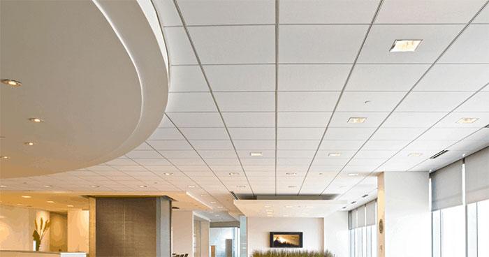 Ngoài khả năng chống nóng thì trần thạch cao còn có thể chống ồn.