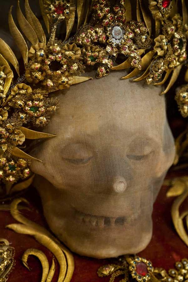 Bộ sọ trang trí được tìm thấy ở Heiligkreuztal - Đức