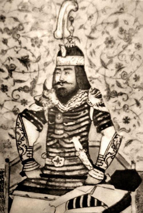 Tranh minh họa bạo chúa Timur