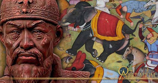 Khi nhìn thấy tháp sọ người này, Timur vô cùng thích thú và phấn khích.