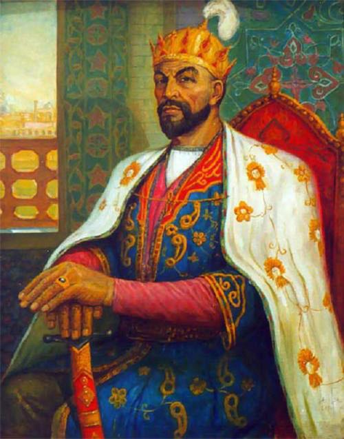 Timur ( 1370 - 1405) là nhà lãnh đạo hung bạo và độc đoán của đế chế Timur.