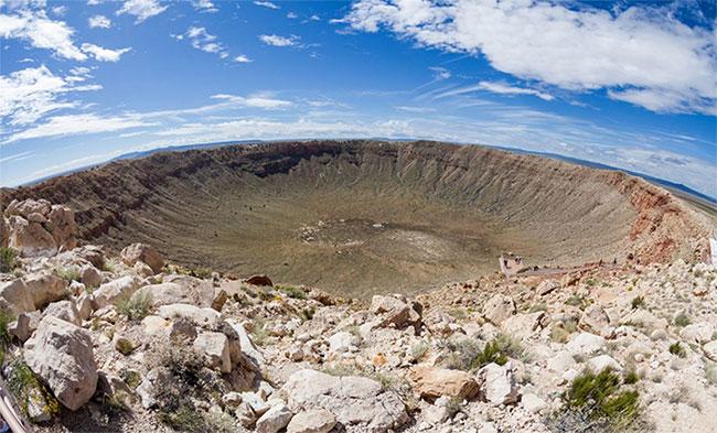 Metor Crater, Arizona (Mỹ)
