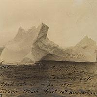 Hé lộ ảnh chụp rõ nét tảng băng trôi đã gây thảm họa chìm tàu Titanic