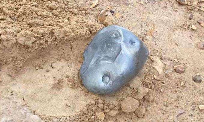 """""""Thiên thạch"""" nặng 2,8kg rơi xuống thị trấn Sanchore."""