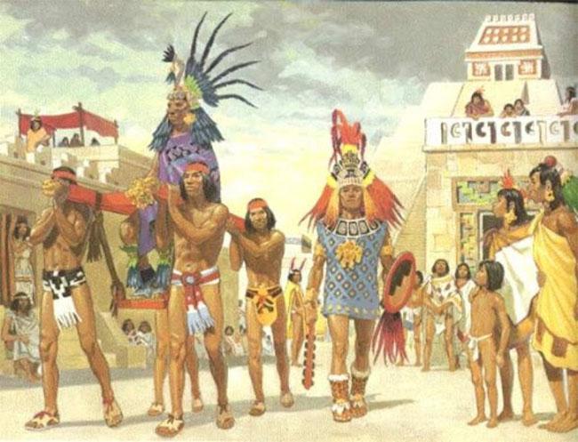 Bản thân người Aztec lại gọi mình là người Mexica.