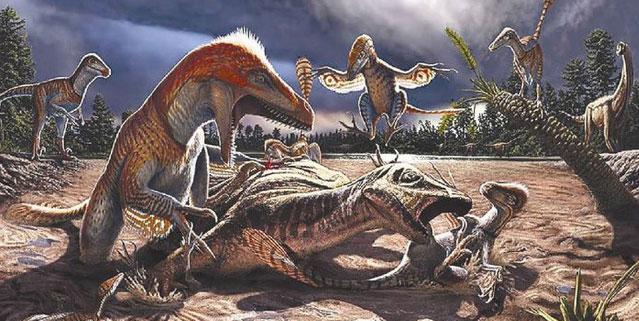 Plesiosaur có họ hàng với các loài bò sát khác như khủng long, cá sấu, thằn lằn...