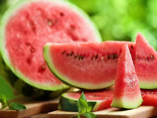 Trái cây tốt nhất là dưa hấu