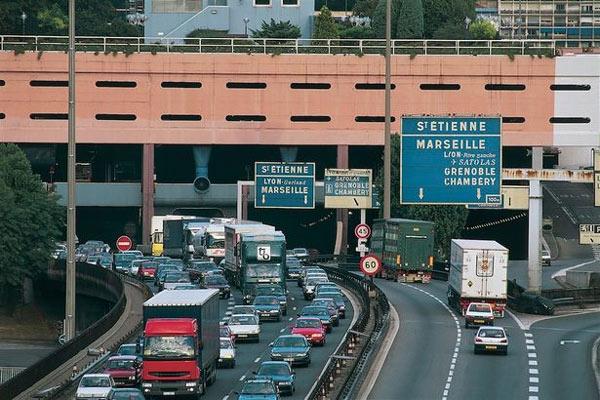 Interstate 45, Texas, tháng 9/2005