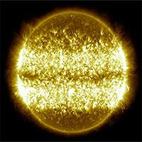 """NASA công bố video """"cuộc sống 10 năm của Mặt trời"""""""