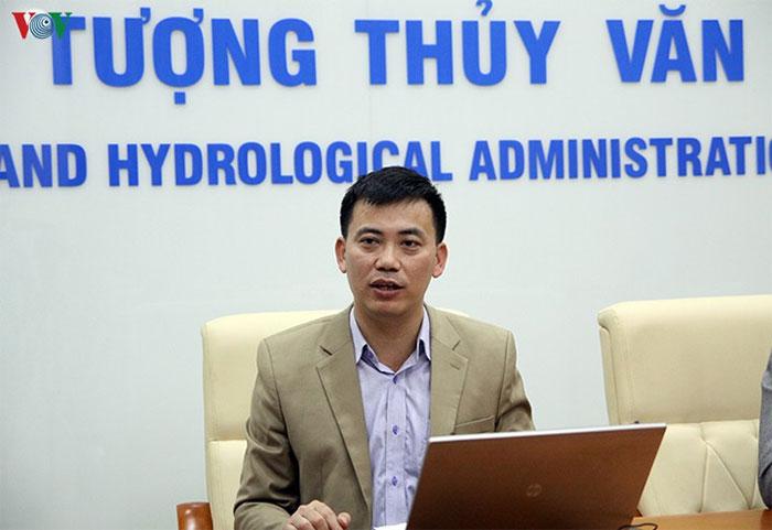 Ông Nguyễn Văn Hưởng - Trưởng phòng Dự báo Khí hậu, Trung tâm Dự báo Khí tượng Thủy văn Quốc gia.