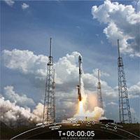 SpaceX phóng vệ tinh định vị toàn cầu thế hệ mới