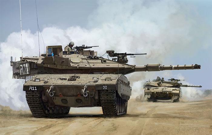 Xe tăng Merkava không giống bất kỳ mẫu tăng nào từng được đưa ra chiến trường bởi quân đội các quốc gia khác.