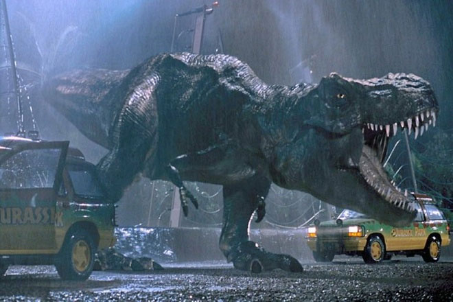 Hồi sinh khủng long từ muỗi trong Jurassic Park (1993)