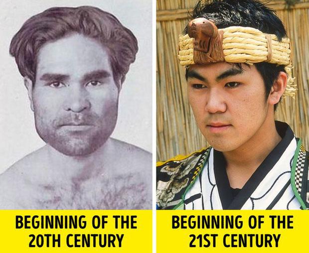 Ở thời điểm hiện tại, thật khó để phân biệt một người Ainu với cư dân Nhật Bản ngày nay.