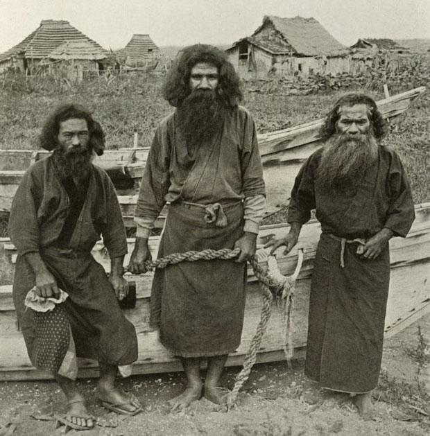 Ainu có lẽ là bộ tộc cổ xưa nhất tại châu Âu và châu Á.