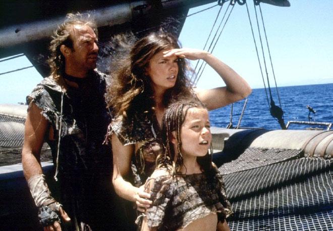 Trái đất bị nhấn chìm trong Waterworld (1995)