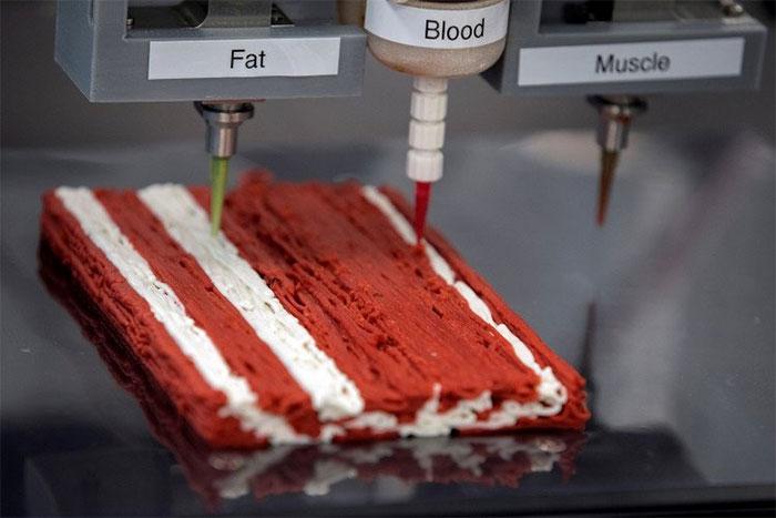 Alt-Steak được tạo ra từ công thức chế biến thịt thực vật Alt-Muscle, Alt-Fat, and Alt-Blood.