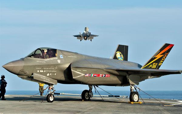 Chiếc F-35B của Hải quân Mỹ