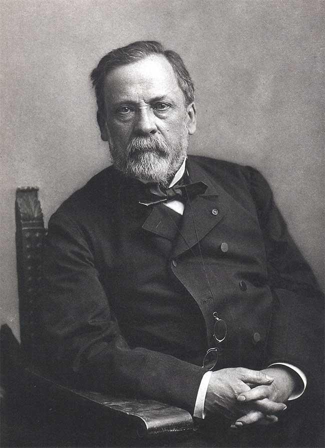 Chân dung nhà khoa học Louis Pasteur