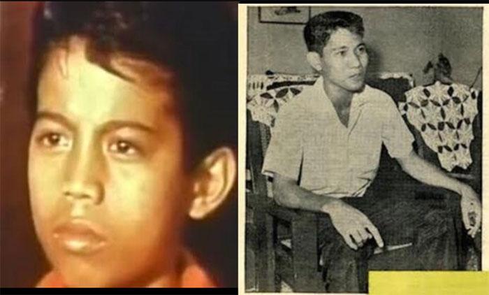 """Cornelio Closa (trái) khi xảy ra hiện tượng """"biến – hiện"""", và trong cuộc trả lời phỏng vấn báo chí 14 năm sau đó."""
