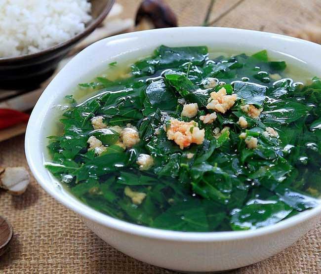 Ngoài làm thực phẩm, rau ngót còn được sử dụng như một loại thảo dược trị bệnh.