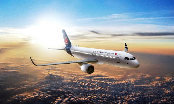 Máy bay QW9771 có chuyến bay đầu tiên hôm thứ Ba.