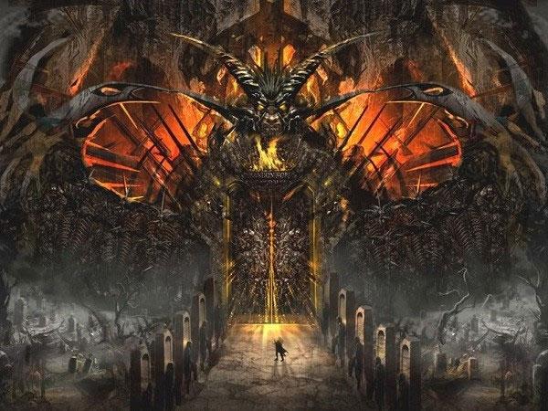 Cảm giác bí ẩn nơi cánh cửa địa ngục