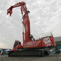 SK3500D: Cỗ máy phá hủy công trình xây dựng lớn nhất thế giới, cao 65m