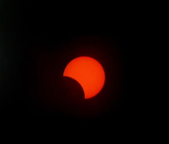 Gần đây nhất, hiện tượng nhật thực một phần xuất hiện vào cuối ngày hạ chí 21/6.