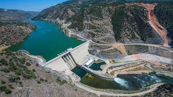 Đập thủy điện Illisu nằm trên con sông Tigris.