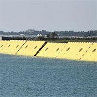 Venice lần đầu thử nghiệm hệ thống cửa chắn lũ
