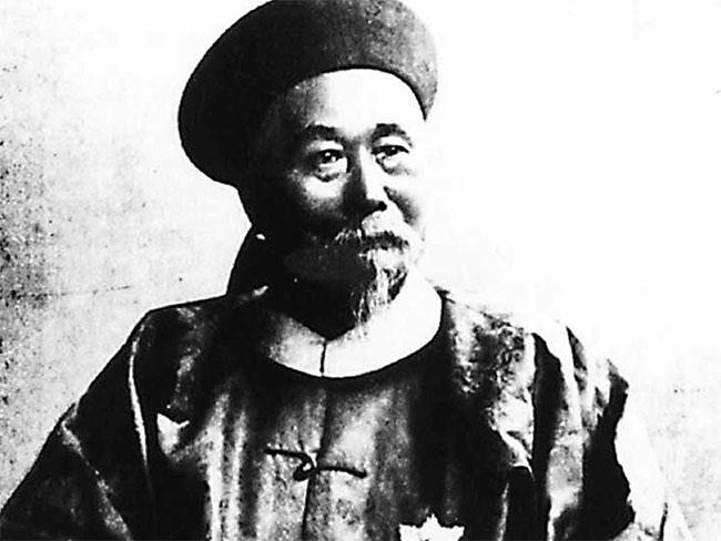 Danh thần nổi tiếng triều đại Thanh: Lý Hồng Chương.
