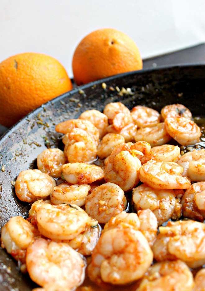 Đừng nên ăn tôm cùng với các thực phẩm giàu vitamin C