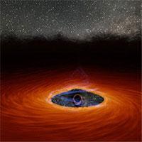 """Lần đầu tiên trong lịch sử, các nhà thiên văn học quan sát được 1 hố đen vừa """"chớp mắt"""""""