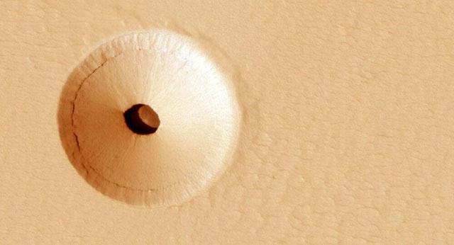 Các nhà khoa học cho rằng, nếu tìm kiếm sự sống trên sao Hỏa, chúng ta nên quan tâm đến các ống dung nham.