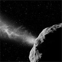 Thiên thạch đang bay gần Trái đất với tốc độ 48.000km/h