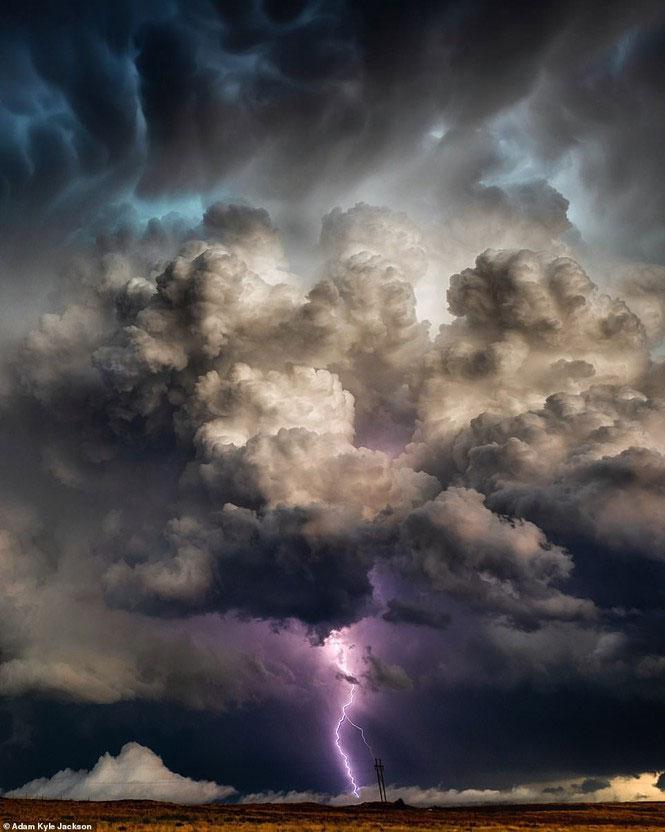 Khoảnh khắc khiến dân mạng phải oà lên được chụp ở Perryton, Texas.