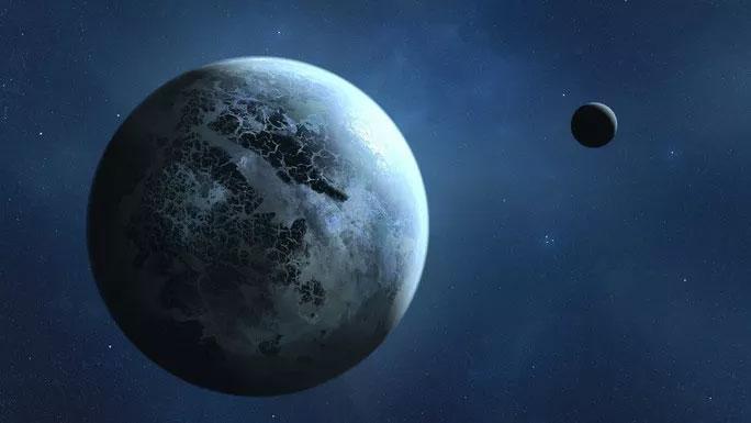 """Ảnh minh họa mô tả """"hành tinh bị thất lạc"""""""