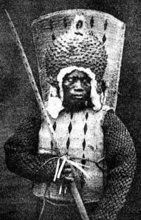 Chiến binh người Nauru, 1880.