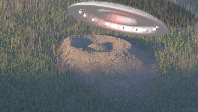 Có thể hố Patomskiy là kết quả từ một vụ va chạm khổng lồ của UFO.