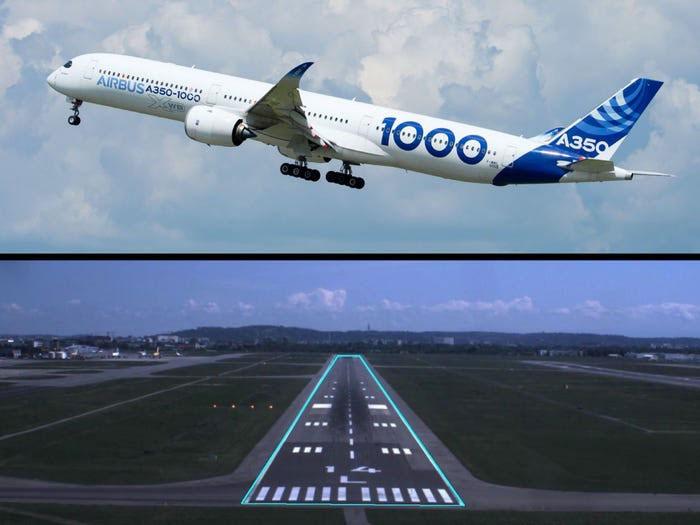 Máy bay Airbus tự hạ cánh không cần thao tác của phi công.